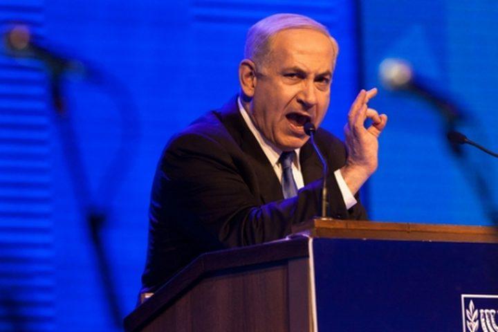 """نتنياهو: التصويت على """"مشروع قانون اغلاق الاعمال التجارية السبت"""" يمكن أن يسقط الحكومة"""