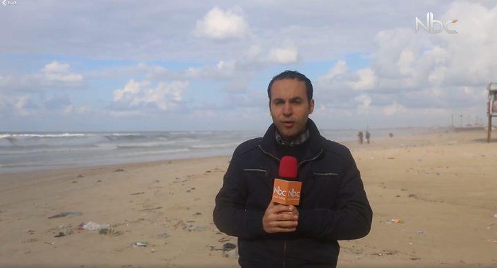 جولة على شاطئ بحر غزة (فيديو)