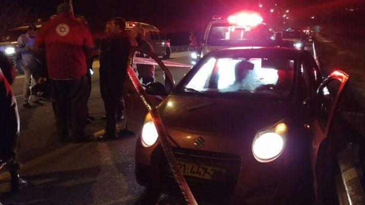 مقتل مستوطن في عملية إطلاق نار على سيارة جنوب غرب نابلس
