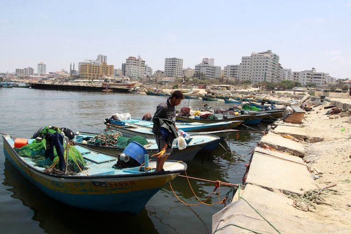 قوات الاحتلال تفرج عن 5 صيادين من غزة