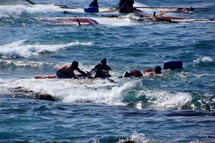 غرق حوالي مئة مهاجر غير شرعي قبالة السواحل الليبية