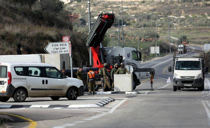 وسط تحريض احتلالي مكشوف..الاحتلال يستنفر على مداخل نابلس الآن
