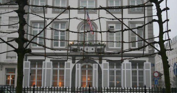 إغلاق السفارة الأمريكية في بلجيكا