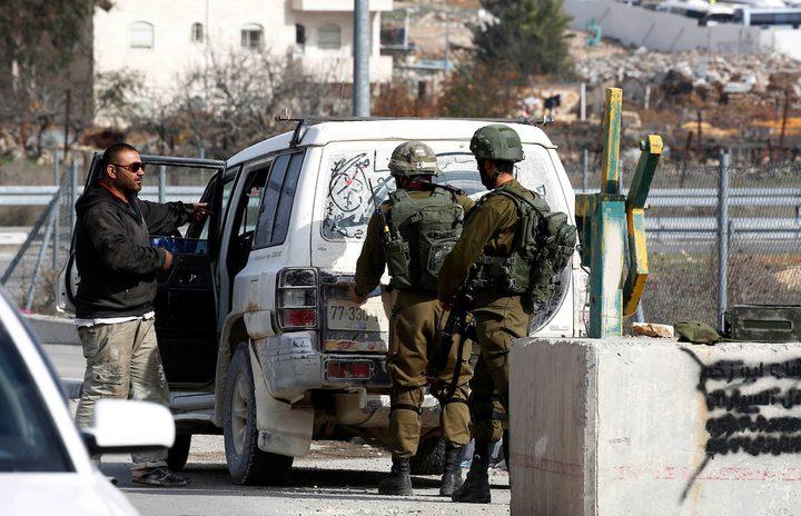 تواجد عسكري كثيف لقوات الاحتلال في قلقيلية