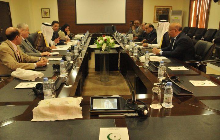 التعاون الإسلامي والبرلمان العربي يبحثان جهود دعم القضية الفلسطينية