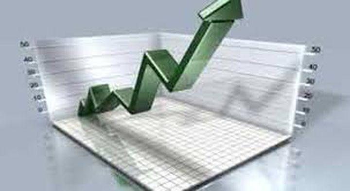 ارتفاع بنسبة 0.57% على مؤشر بورصة فلسطين