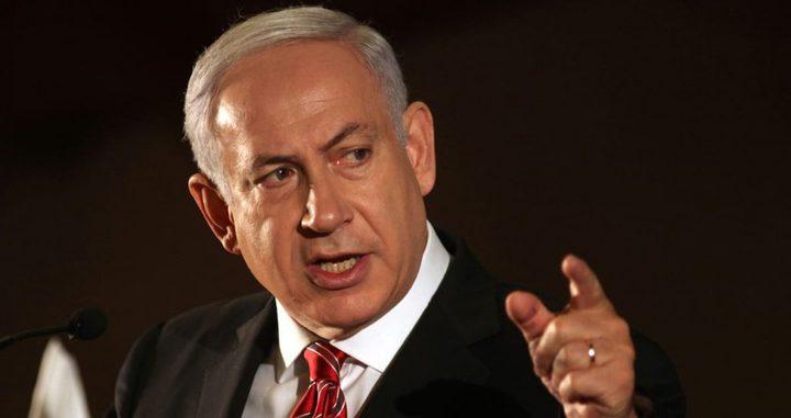 نتنياهو: اعتقال منفذ عملية قتل المستوطن مسألة وقت