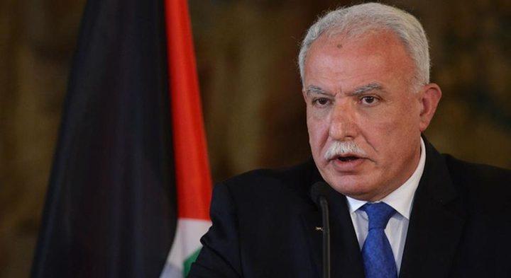 المالكي: لجوؤنا إلى مؤسسات المجتمع الدولي سيتوقف بانتهاء الاحتلال