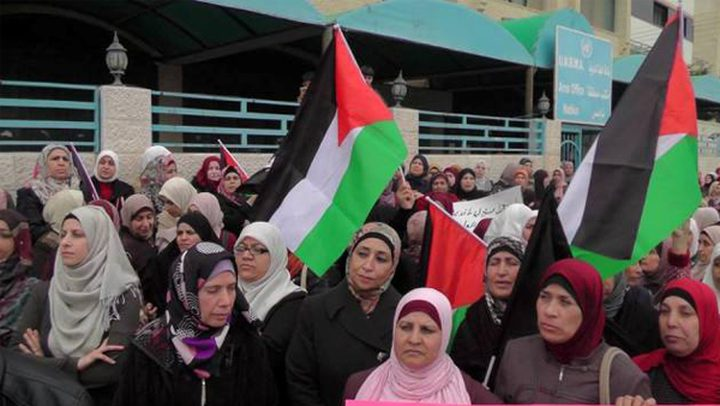 اللجان الشعبية للمخيمات تحتج ضد تقليصات الأونروا في نابلس