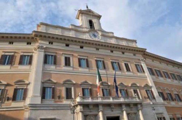 اعتصام تضامني أمام البرلمان الإيطالي