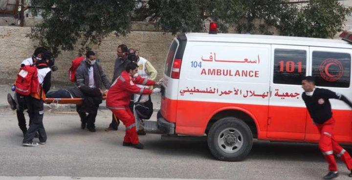 إصابة 4 مواطنين بينهم مسعف