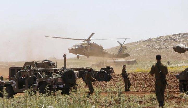 الإحتلال يُجري تدريبات جديدة لمحاكاة الحرب