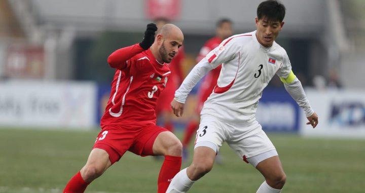 الأولمبي الوطني يفرط بالفوز أمام كوريا الشمالية
