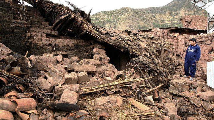مقتل شخصين وفقدان 17 آخرين جراء زلزال هز جنوبي البيرو