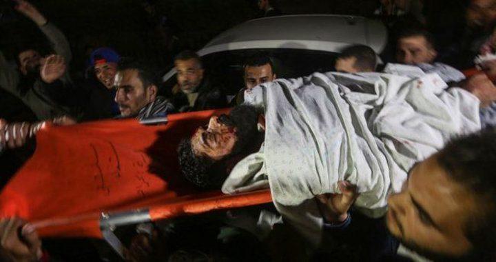 الانتهاء من تشريح جثمان الشهيد إبراهيم أبو ثريا