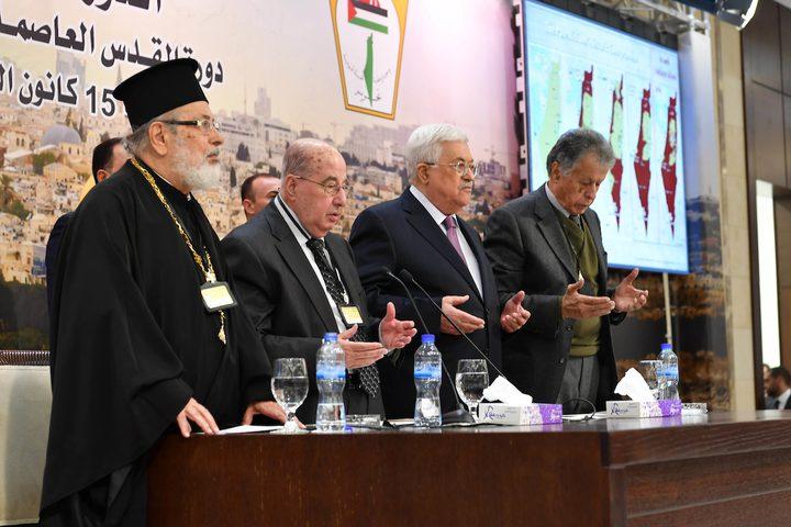 الرئيس عباس: نجتمع من أجل القدس لاتخاذ قرارات مصيرية من أجلها