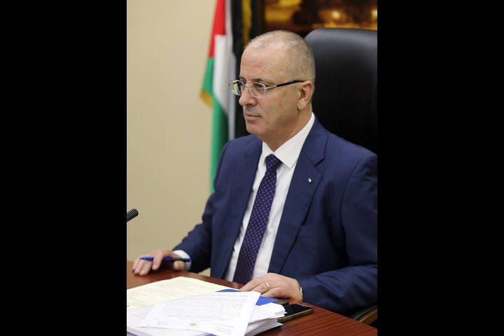 الحمد الله يستقبل الأمين العام المساعد لمجلس وزراء الداخلية العرب