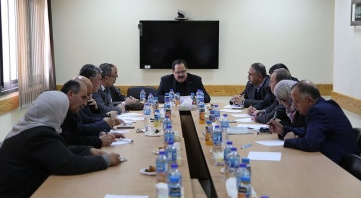 غزة على رأس أولويات المجلس الأعلى للتعليم المهني والتقني