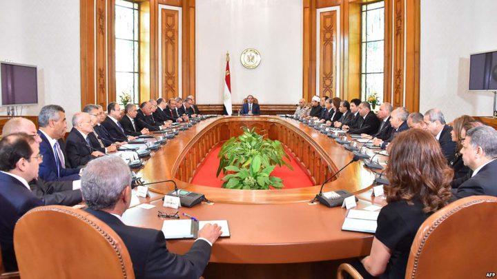 أربعة وزراء جدد في تعديل حكومي بمصر