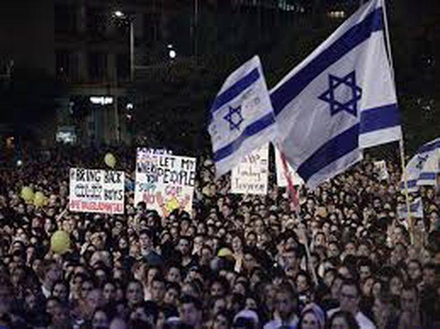 الآلاف يتظاهرون في تل أبيب ضد الفساد السلطوي