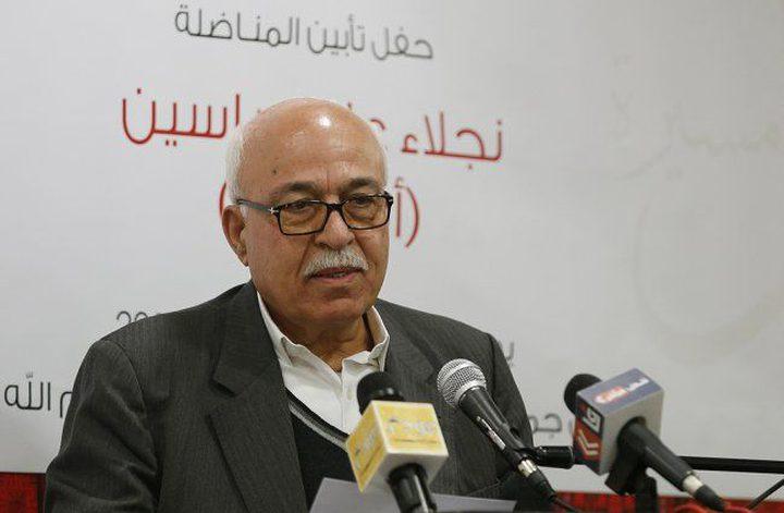 رأفت يشدد على اهمية دعوة المجلس المركزي للدول العربية والاسلامية تنفيذ قرارات القمم العربية