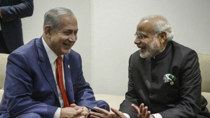 """الهند ترفض الاعتراف بالقدس عاصمة لإسرائيل ونتنياهو يشعر """"بخيبة أمل"""""""