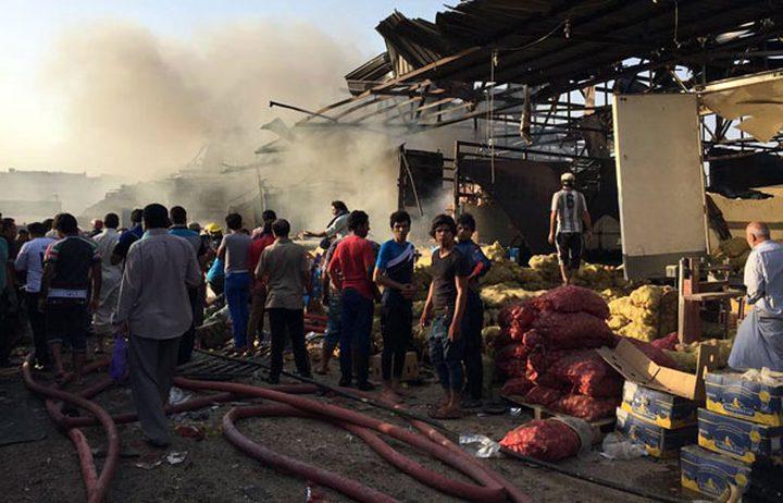 سقوط 38 قتيلا و105 جرحى جراء تفجير مزدوج وسط العاصمة العراقية بغداد