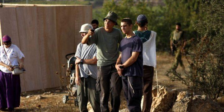 مستوطنون يدشّنون فرق تصوير لملاحقة المتظاهرين الفلسطينيين