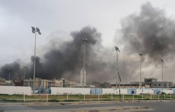تسعة قتلى في معارك بمحيط مطار العاصمة الليبية