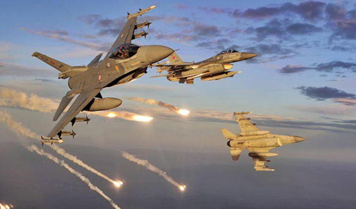 طائرات الاحتلال تشن غارات وهمية في أجواء غزة