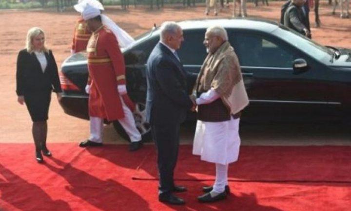 نتنياهو يبحث مع مودي تصويت الهند بشأن القدس