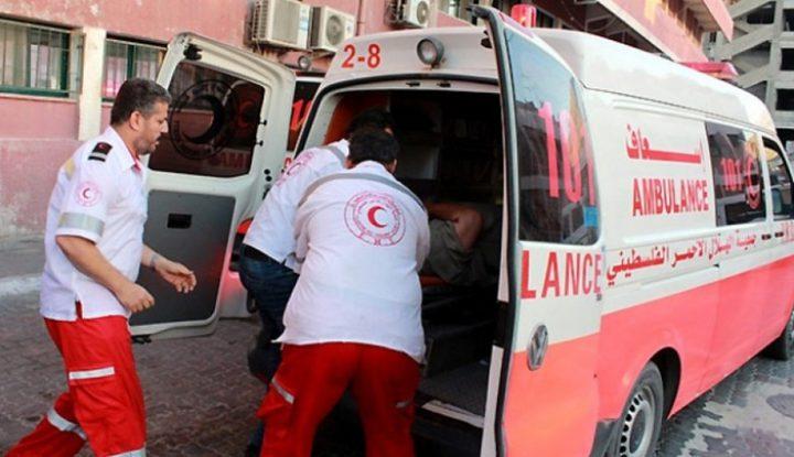 إصابة مواطنين أحدهم بجراح خطيرة في انفجار بدير البلح