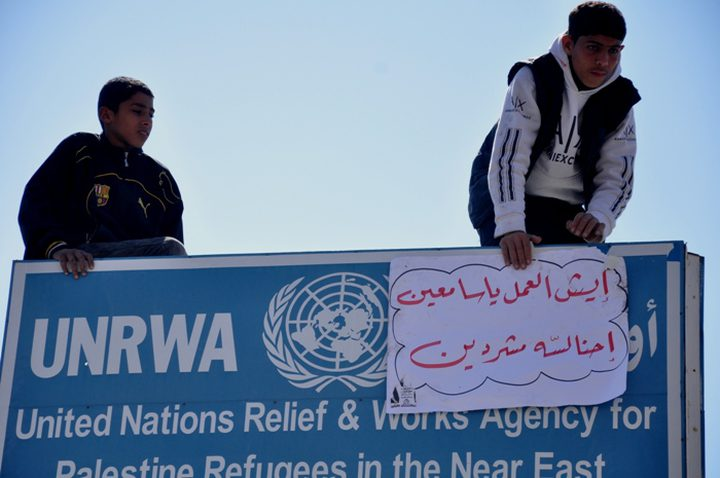 """الأمم المتحدة: سنبحث عن مصادر تمويل للأونروا حال تخفيض """"الدعم الأمريكي"""""""