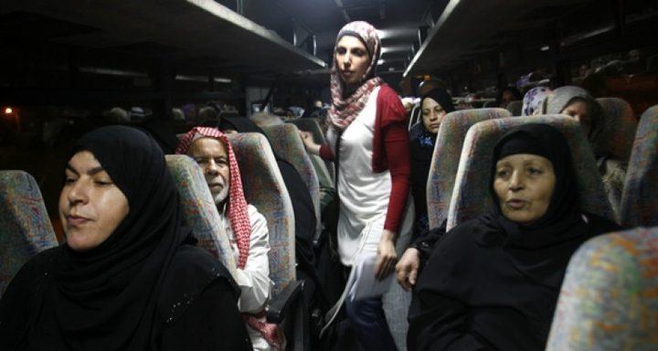 """أهالي أسرى غزة يزورون 8 من أبنائهم بمعتقل """"إيشل"""""""
