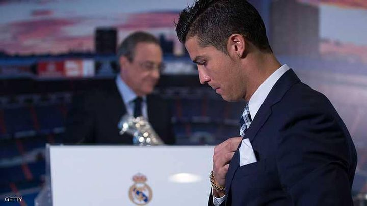 رئيس الريال يستمع للعروض التي تلقاها رونالدو