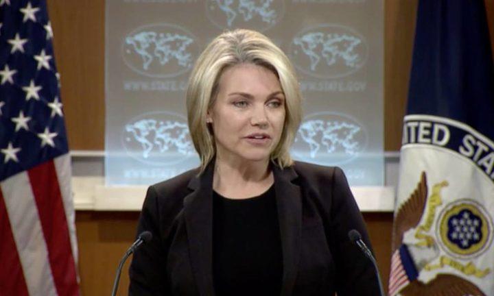 """الخارجية الأمريكية: حجب تمويل """"أونروا"""" لا يستهدف معاقبة الفلسطينيين"""