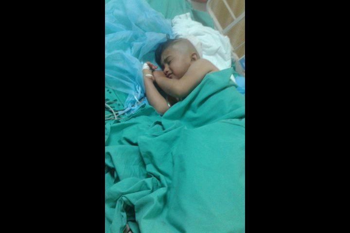 """""""النجاح"""" يحقق: رصاصة استقرت برأس الطفل ياسر وعائلته: من ينقذ ابننا؟"""