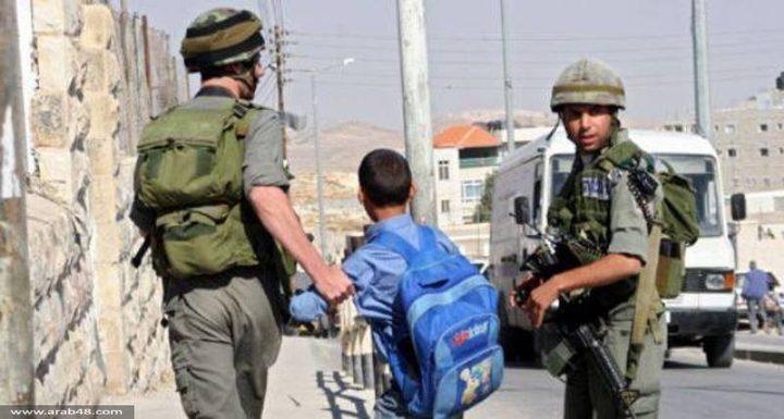 الإحتلال يعتقل 7 اطفال من القدس