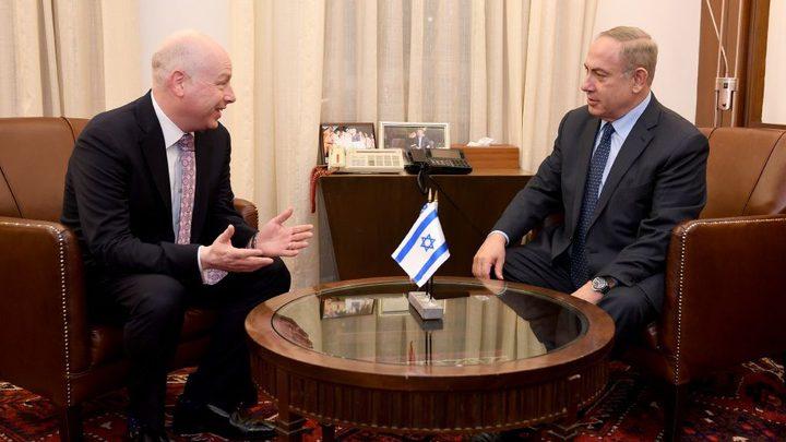 """مبعوث ترامب للشرق الأوسط يزور إسرائيل لبحث خطة السلام مع """"الرباعية الدولية"""""""