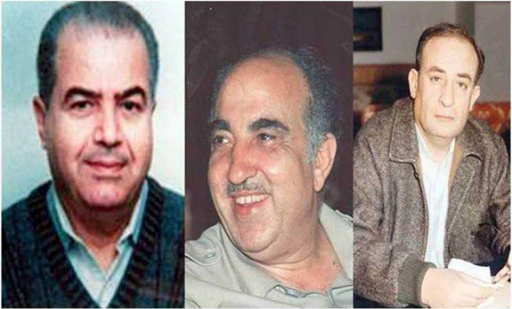 """معطيات جديدة في ملف إغتيال القادة """"أبو إياد"""" و""""أبو الهول""""و """"العمري"""""""