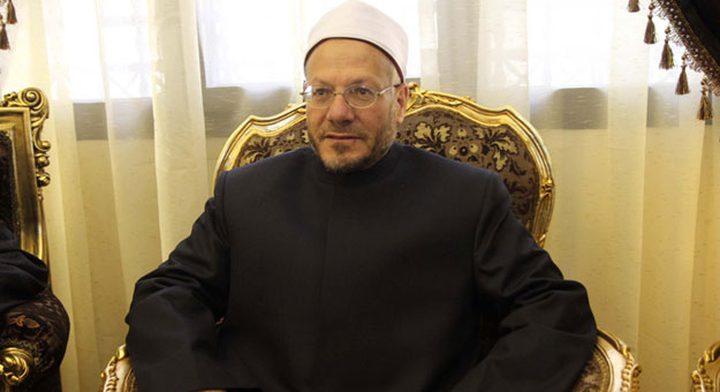 مفتي الديار المصرية: مصر لم تتخلَ يوما عن قضية القدس