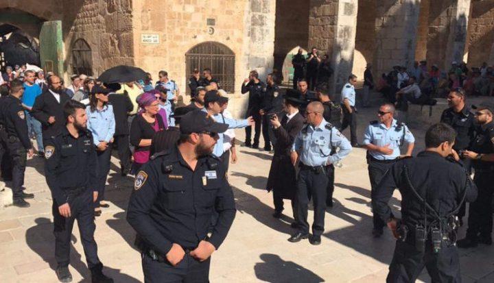 حالة من التوتر تسود في المسجد الأقصى (فيديو)