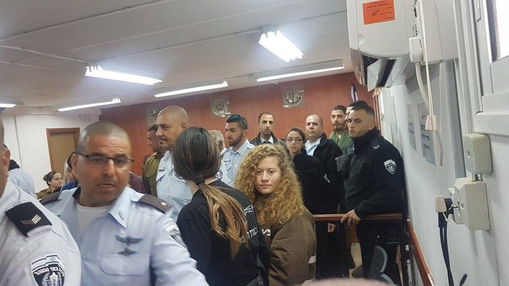 محكمة الاحتلال تمدد اعتقال الأسيرة عهد التميمي