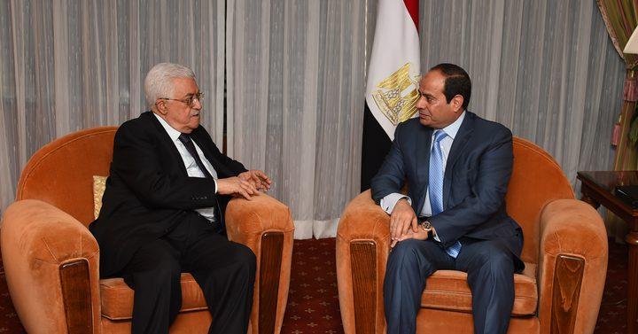 الرئيس يعقد جلسة مباحثات مع نظيره المصري