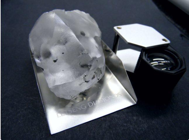 العثور على أحد أكبر أحجار الماس في العالم
