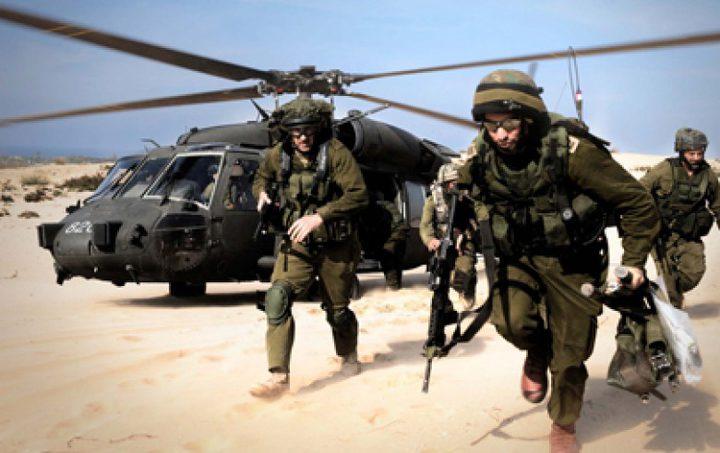 طائرات الاحتلال تجري عمليات إنزال شرق بلدة قباطية جنوب جنين