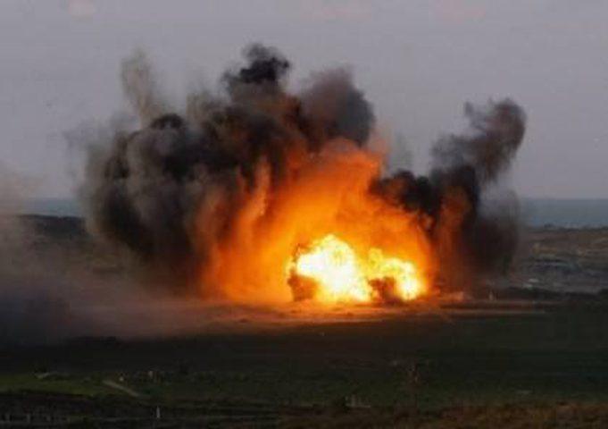 مفزاك لايف: الإحتلال فجَّر لغم أرضي قديم على حدود قطاع غزة