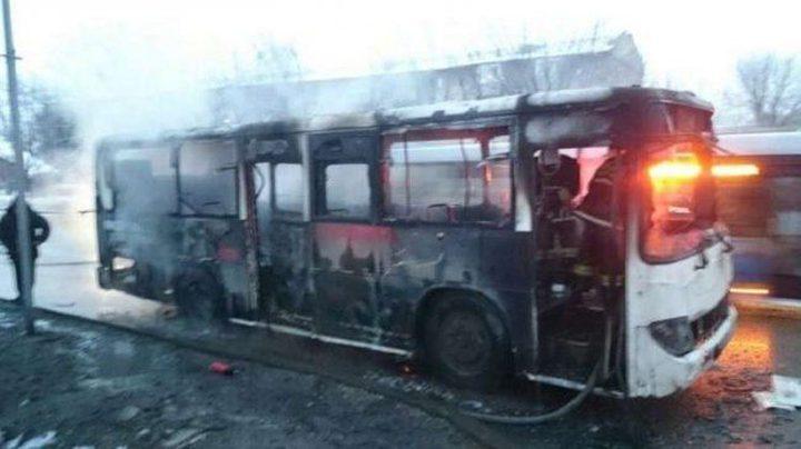 مصرع 52 شخصا باحتراق حافلة غربي كازاخستان