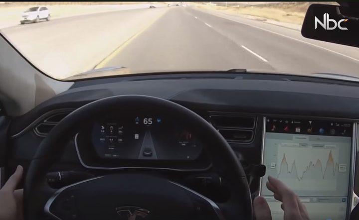بالفيديو.. سيارات ذاتية القيادة