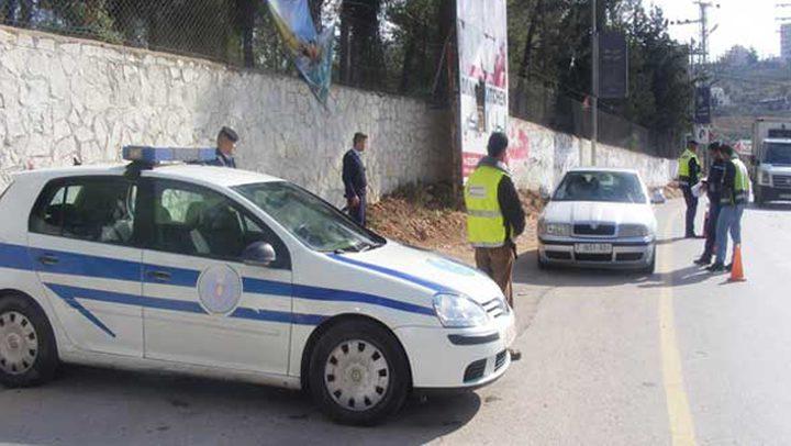 25 مخالفة تدفع الشرطة الفلسطينية لحجز مركبتك